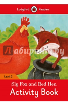 Sly Fox and Red Hen Activity Book. Level 2 pencil case korean stationery creative simple large capacity pu zipper pencil case cute student supplies high quality waterproof