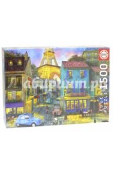 Пазл-1500 Парижские улицы (17122) educa пазл пекарня