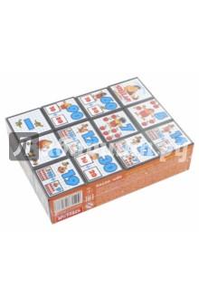Кубики Математика с рисунками (00705) ювента математика для детей 3 4 лет
