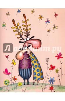 Тетрадь Обнимашки, клетка. 48 листов, А5 (M-1590540N) тетрадь seventeen 48 листов формат а5 цвет бирюзовый фиолетовый