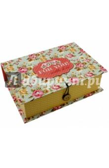 Коробка подарочная ПРОВАНС (42369) подарочная коробка машинки 20 см х 14 см х 6 см