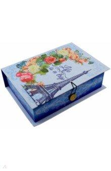 Коробка подарочная АПРЕЛЬСКИЙ ПАРИЖ (42359) подарочная коробка машинки 20 см х 14 см х 6 см