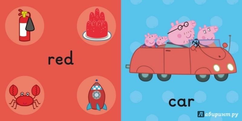 Иллюстрация 1 из 5 для Peppa Pig. Colours. Board Book   Лабиринт - книги. Источник: Лабиринт