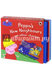 Peppa Pig. Peppa's New Neighbours & Ot.St (5-book) пазл origami peppa pig транспорт 4 в 1