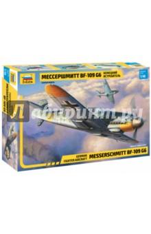 Купить Самолёт Мессершмитт BF-109 G6 1/48 (4816), Звезда, Пластиковые модели: Авиатехника (1:48)