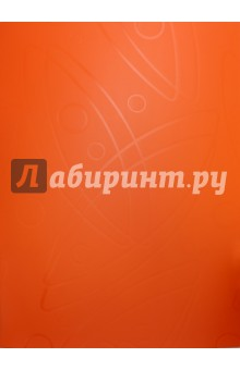 Папка Galaxy (40 прозрачных вкладышей, A4, оранжевая) (GA40OR) папка с 40 прозр вклад бюрократ crystal cr40or a4 пластик 0 5мм оранжевый
