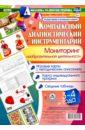 Комплексный диагностический инструментарий. Мониторинг изобразительной деятельности детей 3-4 лет, Балберова Оксана Борисовна