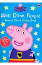 Peppa Pig: Well Done, Peppa! - Chart Sticker Book tidying up