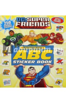 DC Super Friends. ABC Sticker Book tilly and friends play all day sticker activity book