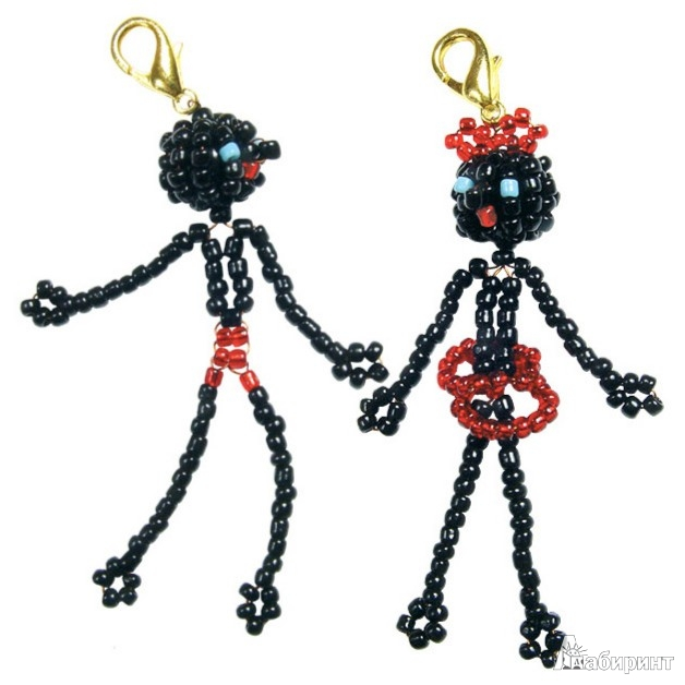 Иллюстрация 1 из 6 для Зулусы (фигурки на проволоке): Набор для бисероплетения   Лабиринт - игрушки. Источник: Лабиринт