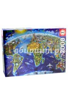 Пазл-2000 Достопримечательности мира (17129) educa пазл пекарня