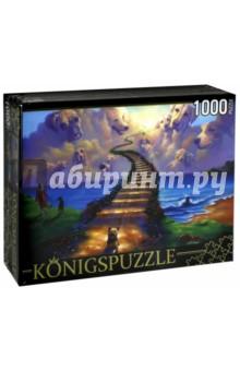 Puzzle-1000 Все собаки попадают в рай (АЛК1000-6516) puzzle 1000 семь леопардов tinga 29427