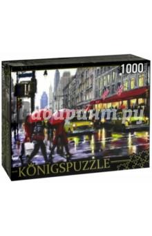 Puzzle-1000 Дождь в Нью-Йорке )(АЛК1000-6488) puzzle 1000 сюрприз волк mordillo classics 29171