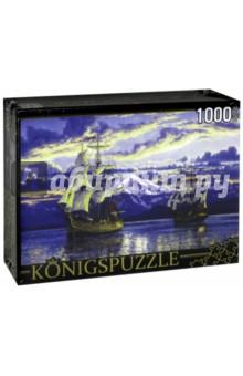 Puzzle-1000 Корабли Джорджа Ванкувера (АЛК1000-6503) puzzle 1000 семь леопардов tinga 29427