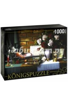 Puzzle-1000 Натюрморт со скрипкой (АЛК1000-6505) пазл castor land 68 47см натюрморт со скрипкой и живописью 1000эл