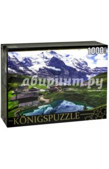 Puzzle-1000 Горный пейзаж (КБК1000-6458) puzzle 1000 сюрприз волк mordillo classics 29171