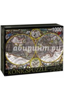 Puzzle-1000 Древняя карта мира (КБК1000-6511) puzzle 1000 семь леопардов tinga 29427