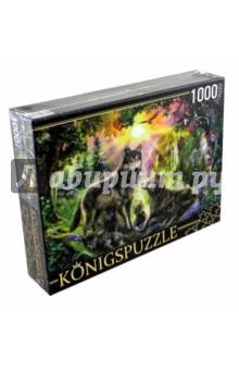 Puzzle-1000. Семья волков (МГК1000-6472).