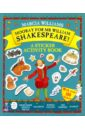 лучшая цена Williams Marcia Hooray for Mr William Shakespeare! A Sticker Activity Book