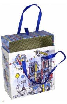 Коробка подарочная Нотр-Дам (44282) коробка подарочная феникс презент восточный калейдоскоп 16 6 х 7 6 х 1 см
