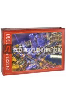 "Puzzle-1000. ""Ночной Лас-Вегас"" (АЛ1000-7007)"