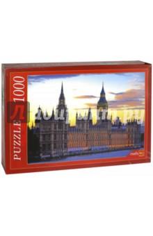 Puzzle-1000 Вестминстерский дворец (КБ1000-6865) puzzle 1000 поле подсолнухов кб1000 6897