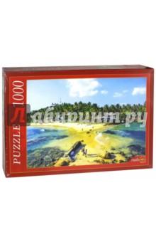 Puzzle-1000 Тропический остров (КБ1000-6873) пазлы crystal puzzle 3d головоломка вулкан 40 деталей