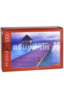Puzzle-1000 Райские Мальдивы (КБ1000-6883) пазлы crystal puzzle 3d головоломка вулкан 40 деталей