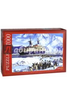 Puzzle-1000. Пингвины и корабль (КБ1000-6895)