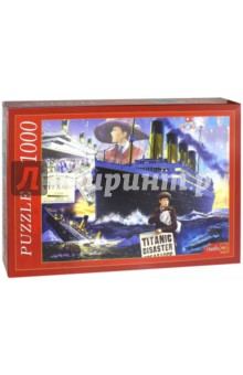 Puzzle-1000 Титаник (МГ1000-7373) пазлы crystal puzzle 3d головоломка вулкан 40 деталей