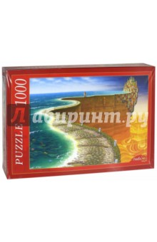 Puzzle-1000. Яцек Йерк Край света (МГ1000-7390) пазлы crystal puzzle 3d головоломка вулкан 40 деталей