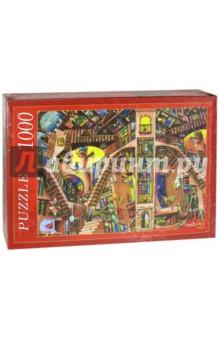 Puzzle-1000 Бесконечная библиотека (МГ1000-7402) пазлы рыжий кот пазлы эйфелева башня 1000 элементов