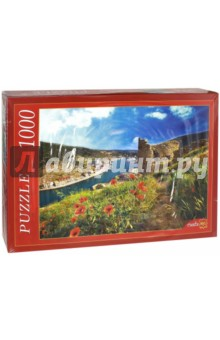 Puzzle-1000 Крым. Балаклава (РК1000-7788) пазлы crystal puzzle 3d головоломка вулкан 40 деталей