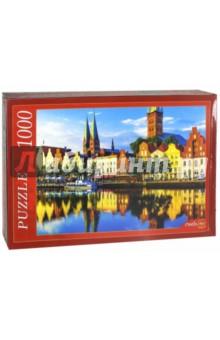 Puzzle-1000 Германия. Любек (РК1000-7808) пазлы рыжий кот пазлы эйфелева башня 1000 элементов