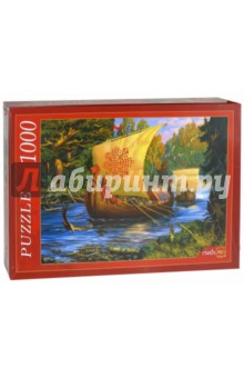 Puzzle-1000. Ладья (Ф1000-7817) пазлы рыжий кот пазлы эйфелева башня 1000 элементов