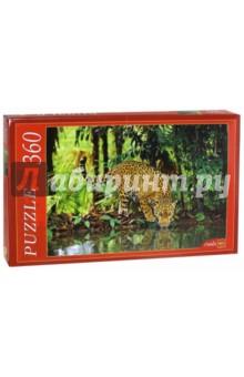 Puzzle-360. Ягуар в джунглях (КБ360-7995)