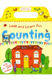 Look and Learn Fun. Counting. Sticker Book tilly and friends play all day sticker activity book