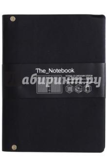 Тетрадь общая на кольцах The Notebook (120 листов, черный) (ПБИ1204443) тетрадь со сменным блоком 120 листов клетка blue 83329