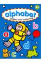 Alphabet. Sticker & Colouring Book цена