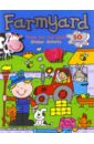 Taylor Dereen Farmyard. Sticker Activity book. Press Out and Make