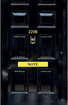 Блокнот Шерлок. 221b Note, А5 orange note творческий блокнот а5