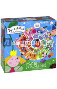 Ben&Holly. Настольная игра День рождения + пазл (03019) игра для ps3 ben 10 omniverse