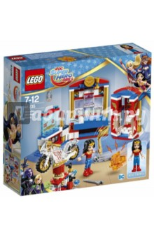 Конструктор LEGO SuperHero Girls. Дом Чудо-женщины (41235) lego дом эммы 41095