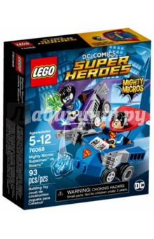 Конструктор LEGO Super Heroes. Супермен против Бизарро (76068) конструктор lego super heroes супермен против бизарро 76068