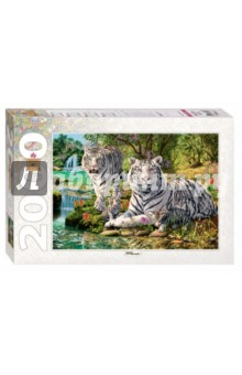 Puzzle-2000. Сколько тигров? (84034) puzzle 2000 рододендроны adamus 29662