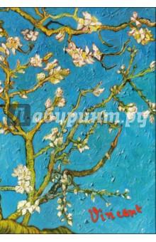 Блокнот Ван Гог. Цветущие ветки миндаля, А5, пластиковая обложка блокнот в пластиковой обложке ван гог цветущие ветки миндаля формат малый 64 страницы арте