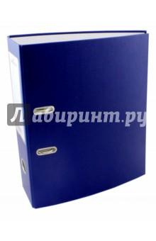 Папка-регистратор (A4, 70мм, синяя) (3210-07) папка с приж пласт proff next а4 0 60мм с торц и внутр карм синяя