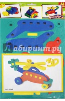 Купить Конструктор мягкий Вертолетик (45366), Тедико, Конструкторы из пластмассы и мягкого пластика