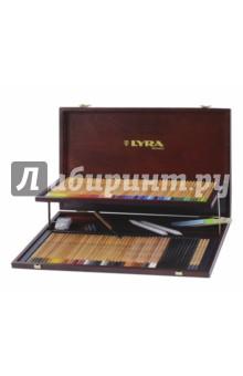 Профессиональный набор карандашей (68 цветов) и аксессуаров Rembrandt (L2004200) профессиональный набор карандашей 68 цветов и аксессуаров rembrandt l2004200