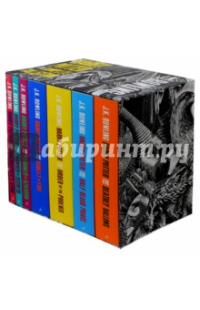 Harry Potter Boxed Set. The Complete Collection. 7 Books harry potter the chamber of secrets